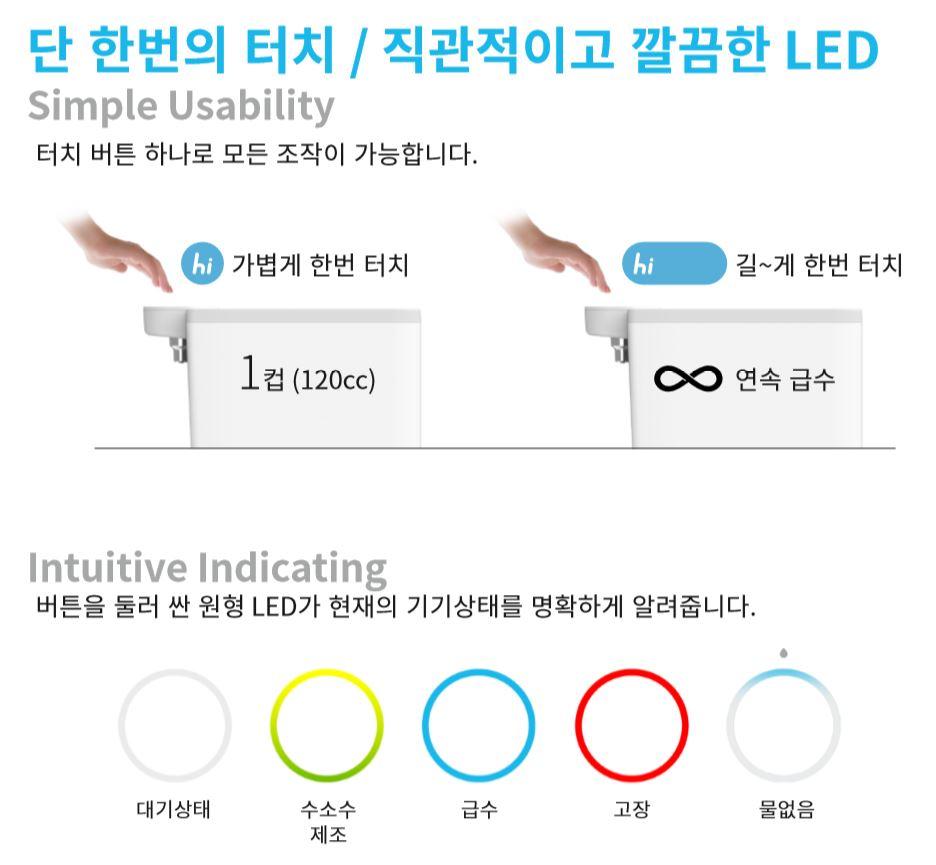 하이프렌드 수소수 제조기 2