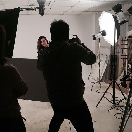 오브제오감 내부 스튜디오 모델 촬영
