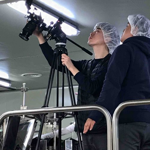 바다원 현장 생산 공장 영상 촬영