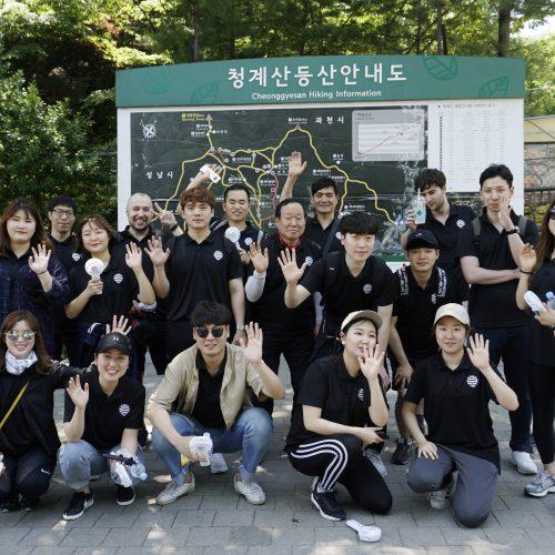수퍼비 멤버들과 함께한 청계산 등산 데이!