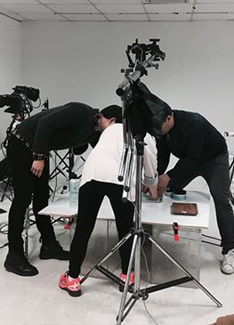 사진촬영 현장) 네츄럴코리아 스타일리스트 실장님과 함께 촬영!