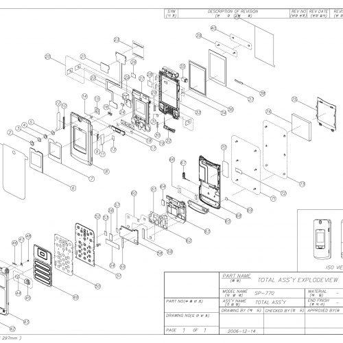 GSM Folder Phone_SP770