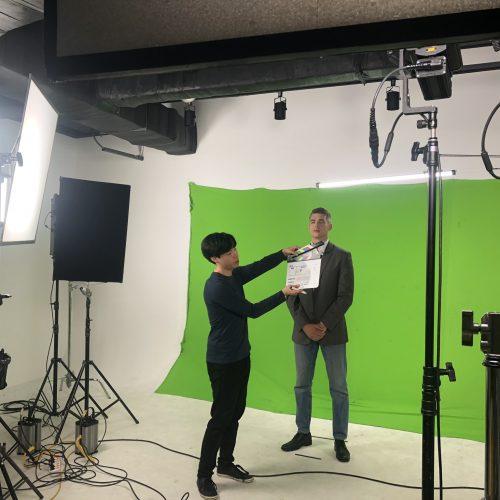 영상팀 리메탈 산업 홍보영상 촬영