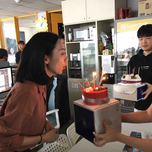 HAPPY BIRTHDAY 수퍼비 직원들 생일파티!