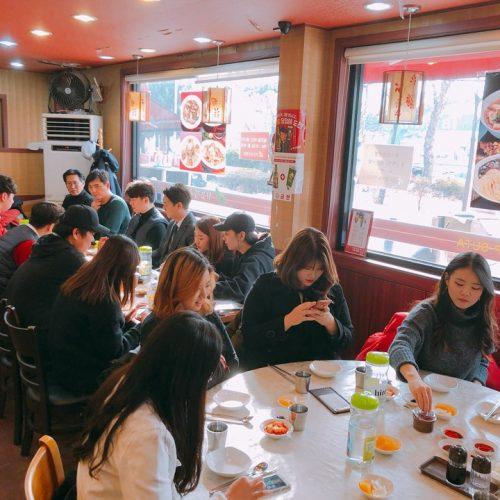 수퍼비 최애 중국집에서 점심먹기