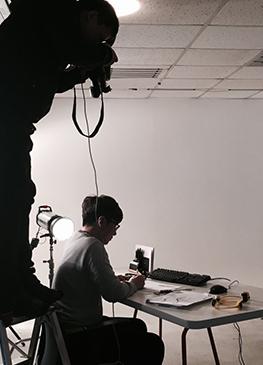 사진촬영 현장) 리뉴얼 홈페이지를 위한 수퍼비 멤버들의 작업사진 촬영