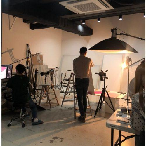 주얼리 브랜드 '나비스트' 제품 촬영중인 수퍼비글로벌디자인그룹!